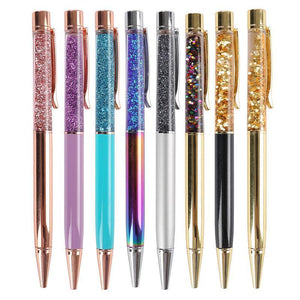 Glitterfall Pen Stationery - Pens alleymuse