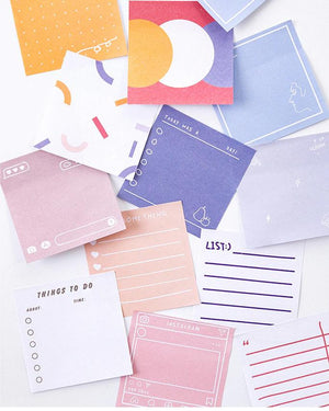 Sticky Memo Pack Stationery - Memos AliExpress - VALIOSOPA