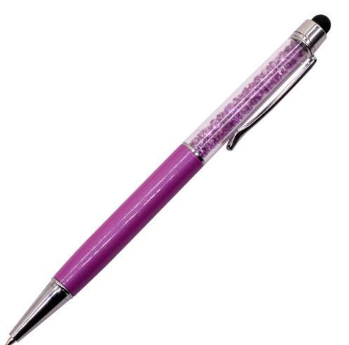 Crystal Stylus Pen Stationery - Pens alleymuse Purple