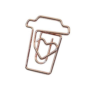 Bundle Diamond Paper Clips Tomohiro Stationery Shop Store Coffee cups