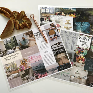 2019 Vision Board Template - free downloadable alleymuse