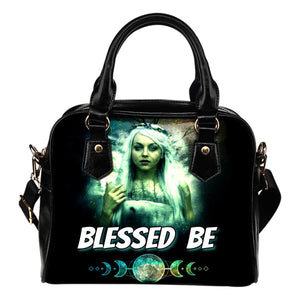 Blessed Be Shoulder Handbag