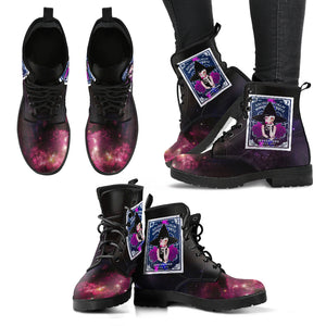 Wicca Leather Boots