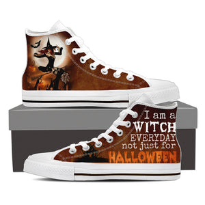 HALLOWEEN WITCH Canvas Shoe