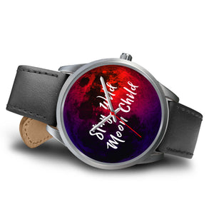 Stay wild moon child wicca watch