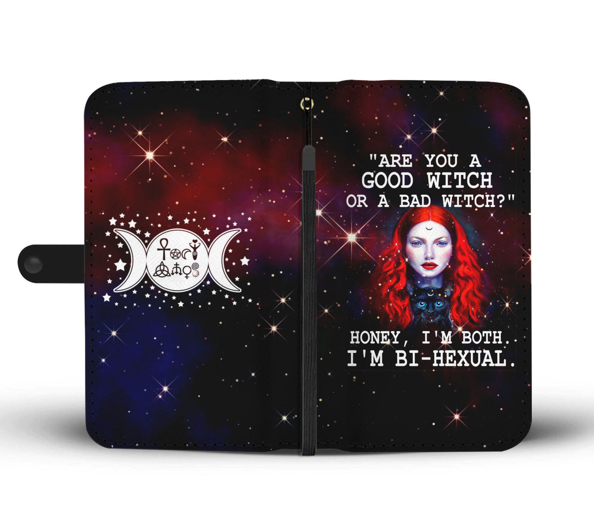 Bi-hexual Witch Wallet Case