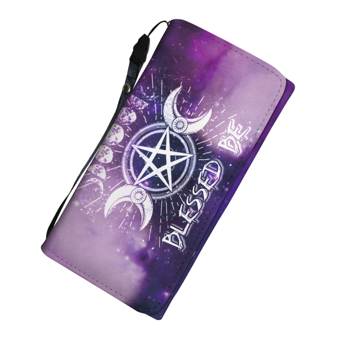 Wicca triple moon Wallet