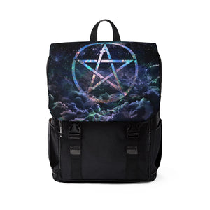 Pentagram wicca Shoulder Backpack