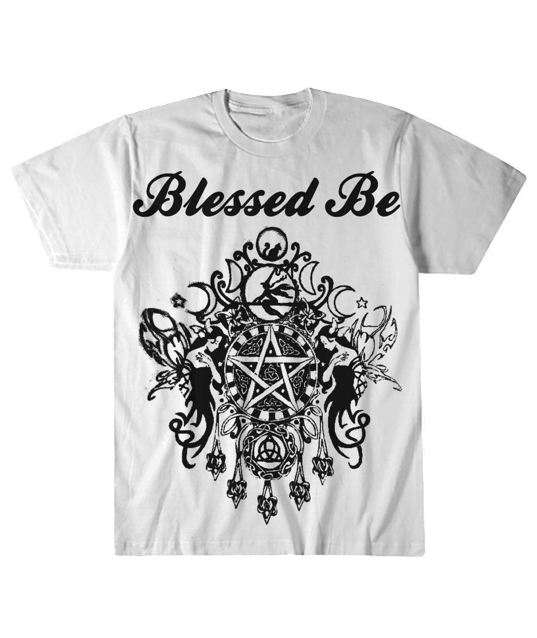 Wicca Blessed Be T Shirt Mofotee Inc