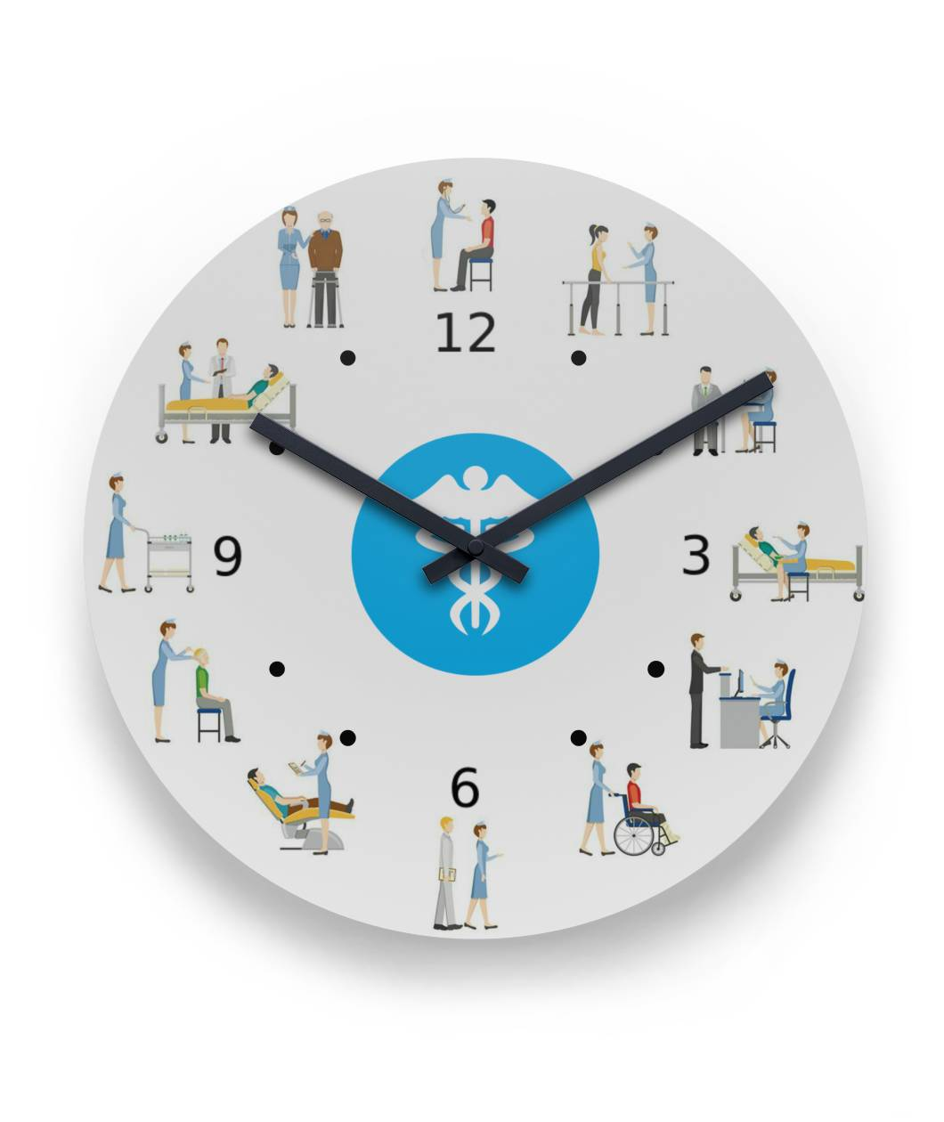 Nurse Wall Clock Round Wall Clock