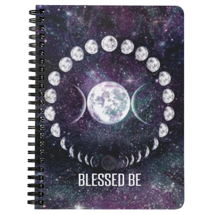 Blessed Be Spiralbound Notebook