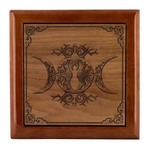 Wicca Jewelry Box