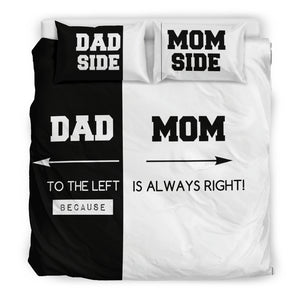 MOM DAD Bedding Set