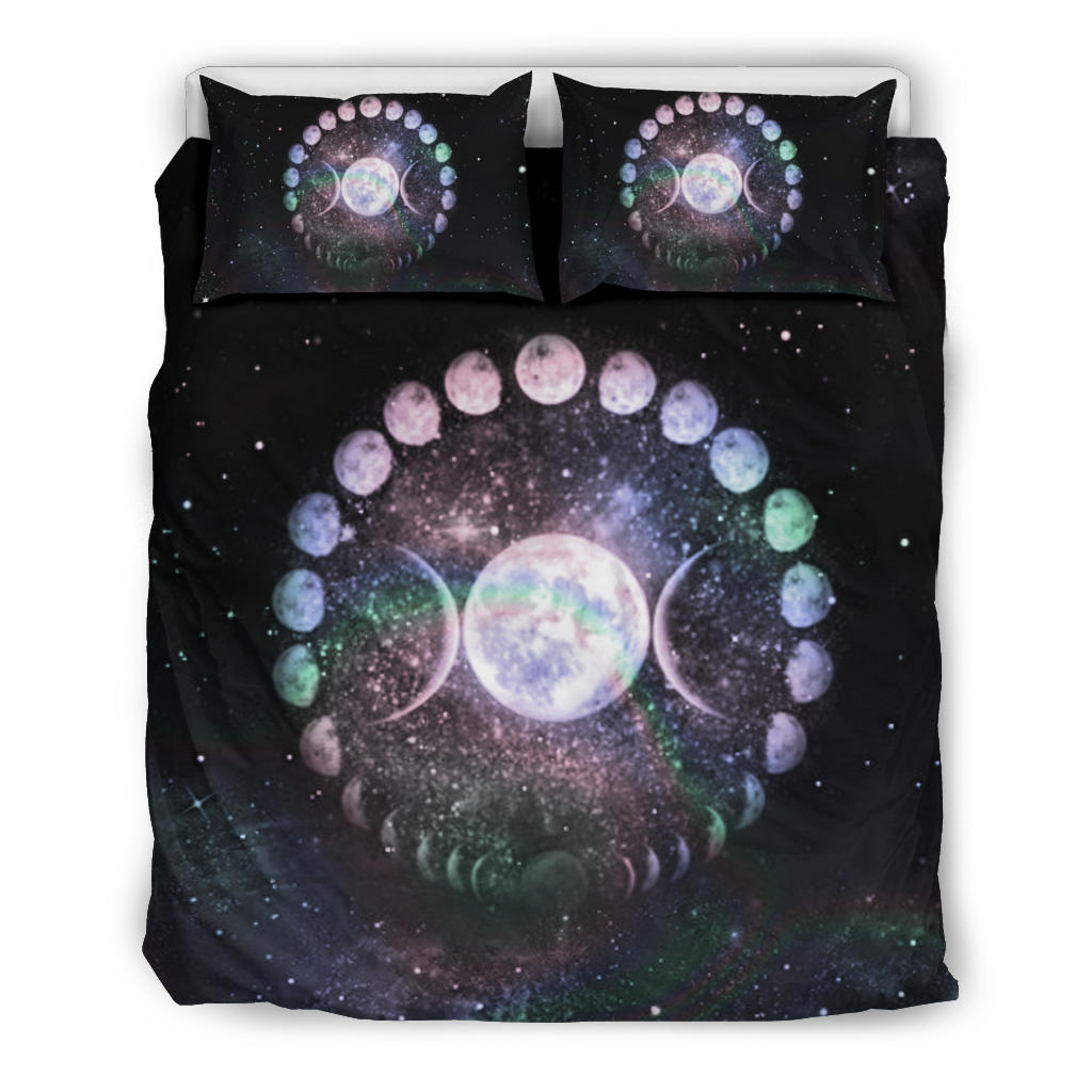 Moon phase bedding set