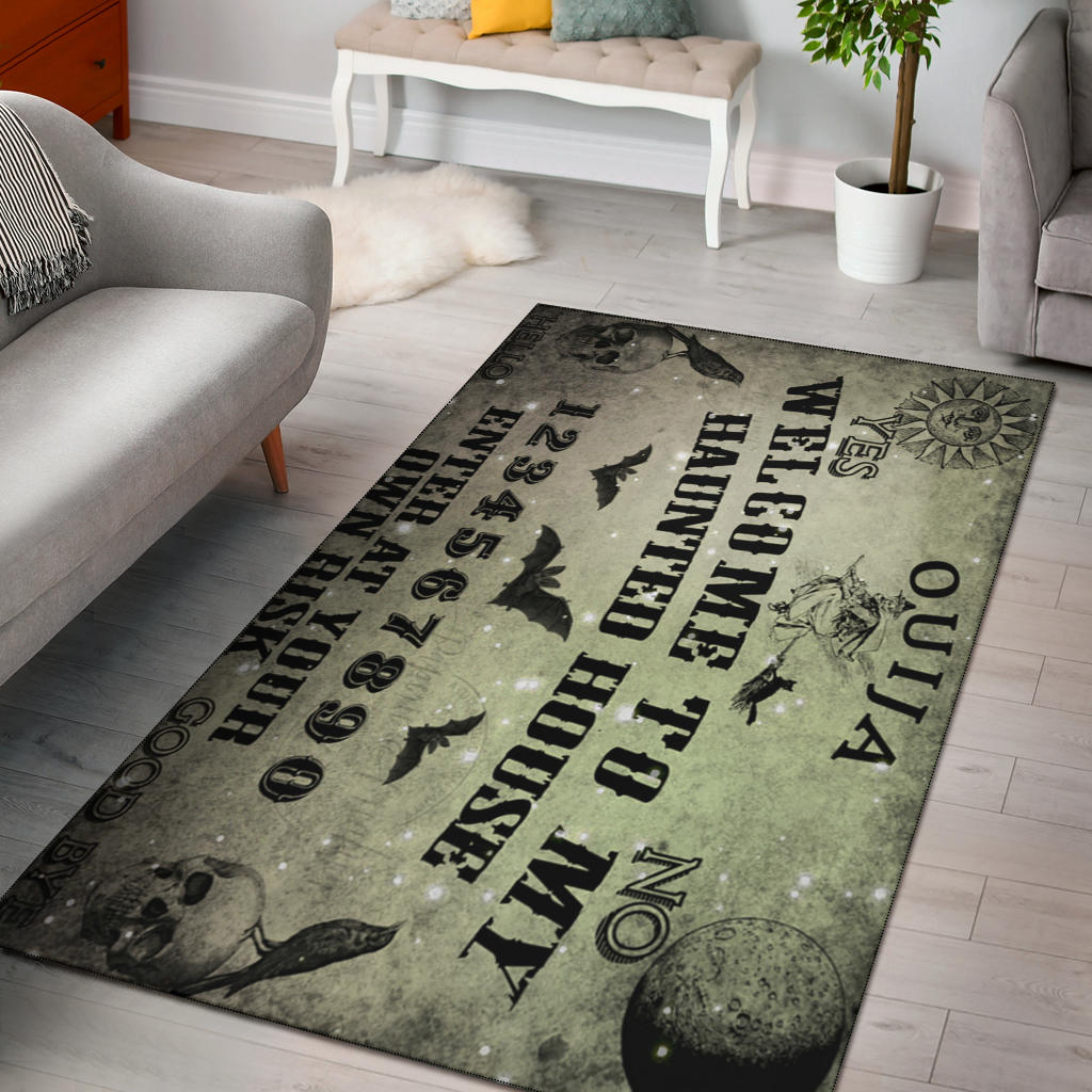Ouija Witch Area Rug