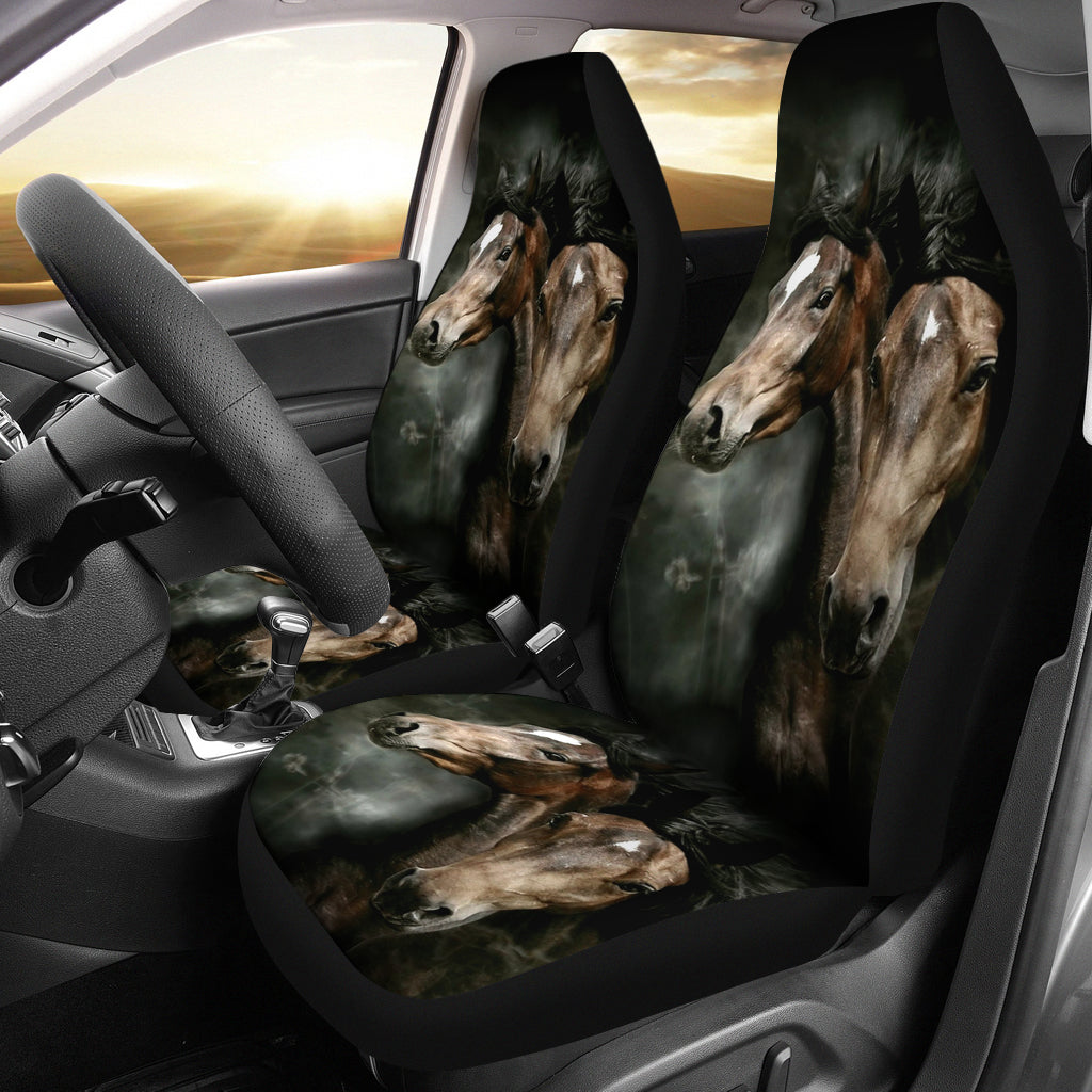 horses car seat covers mofotee inc. Black Bedroom Furniture Sets. Home Design Ideas