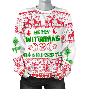 Merry Witchmas Wicca Sweater
