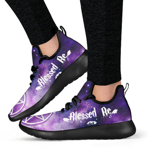 Wicca Mesh Knit Sneakers