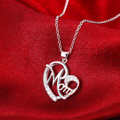 Best gifts for mom heart pendant necklace mofotee inc best gifts for mom heart pendant necklace mozeypictures Image collections