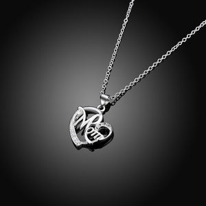 Best Gifts For Mom Heart Pendant Necklace