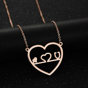 New Medical Jewelry Necklace Nurse Doctor Gift Stainless Steel Chain Stethoscope Necklace