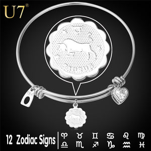 12 Zodiac Constellation Bracelet