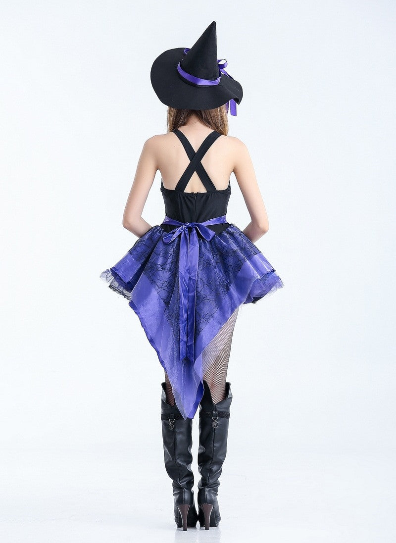 Carnival Party Fancy Witch Halloween Costumes