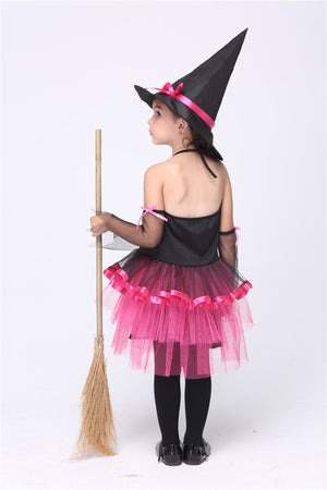 Girl Little Witch Cosplay Costumes Halloween Stage Performance Skirt