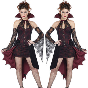 Halloween Witch Costume Dress Uniform Party On Behalf Of The Vampire Costume Demon Cosplay