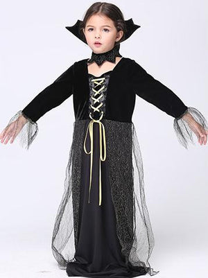 Halloween Witch Cosplay Costumes Stage Performance Girl Fancy Child Dress Up