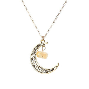 Wicca Vintage Moon Necklace
