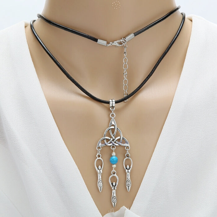 Wicca Triquetra Goddess Necklaces