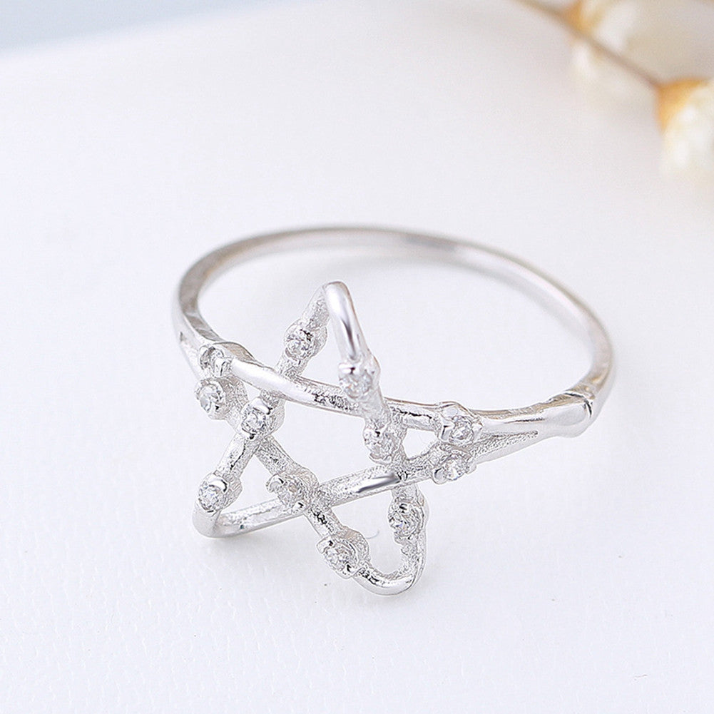 rings inc sterling silver image wiccan star mofotee products product