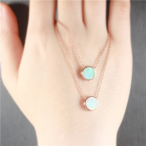 Opal Stone Necklaces