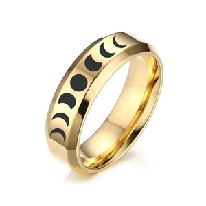 Wicca Moon Phase Rings
