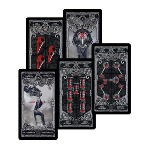 Witch Dark tarot cards decks