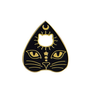 Witch Magic Cat Brooch