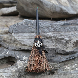 Witches Wicca Pencil Broom
