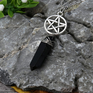 Wicca Crystal Necklace