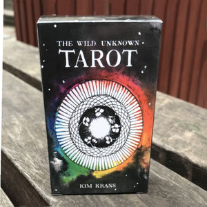 Wicca mysterious tarot cards