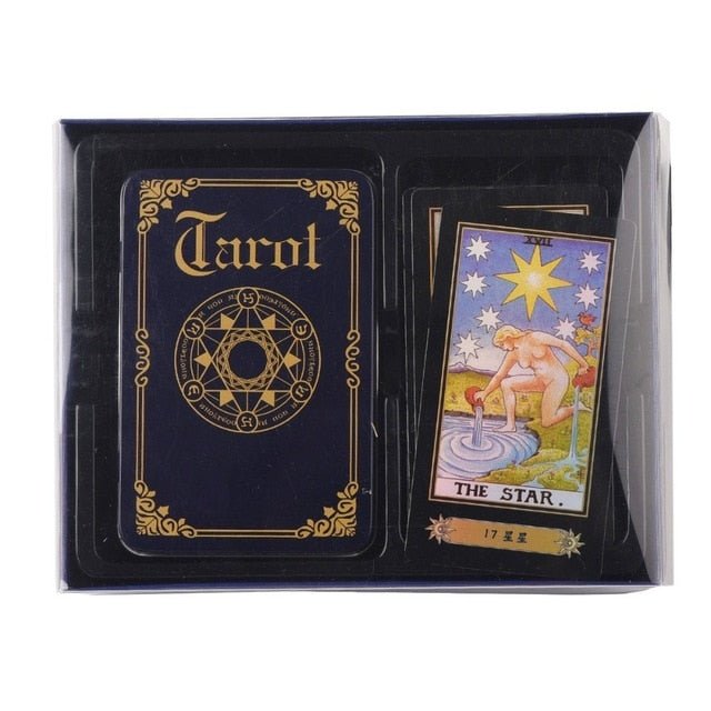 "Wicca ""Waite Tarot"" Shine Tarot Cards 78Pcs/set"