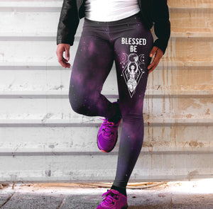Blessed be Wicca Legging