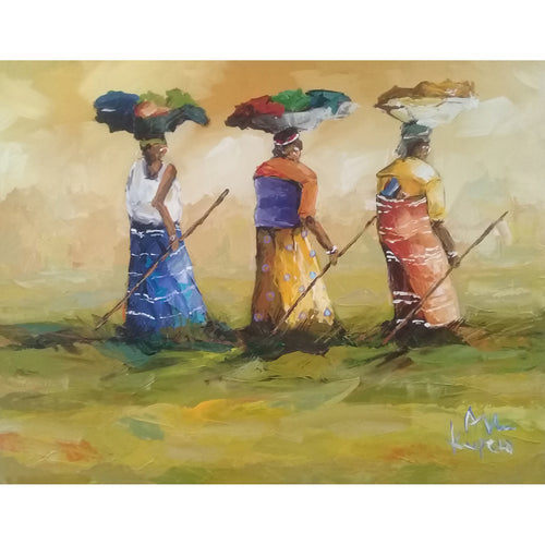 Three Ladies by Allen Kupeta