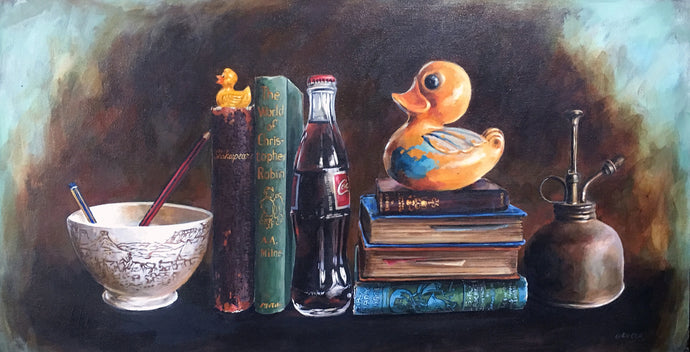Still Life (Duck) by Grace Kotze