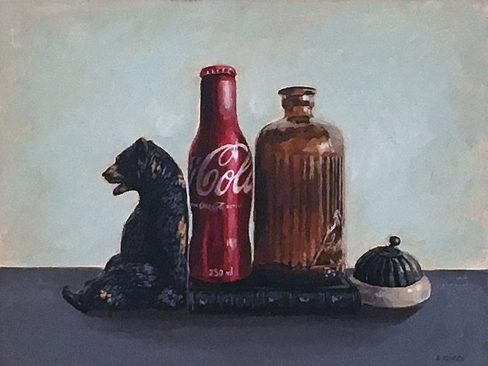 Still Life (Coca-Cola) by Grace Kotze