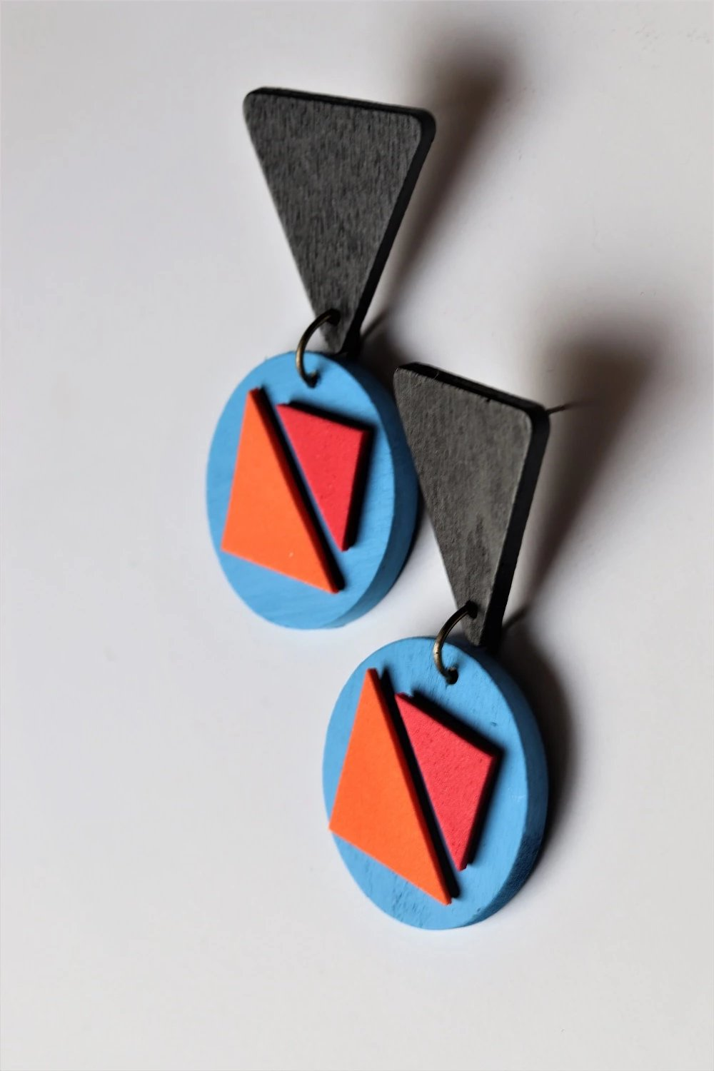 Retro Party Dangle Earrings