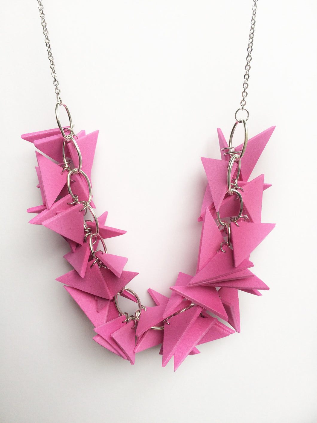 bright colours light weight and soft geometric necklaces dublin