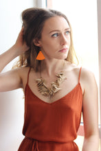 Sand Colour Extremely Light Weight Necklace