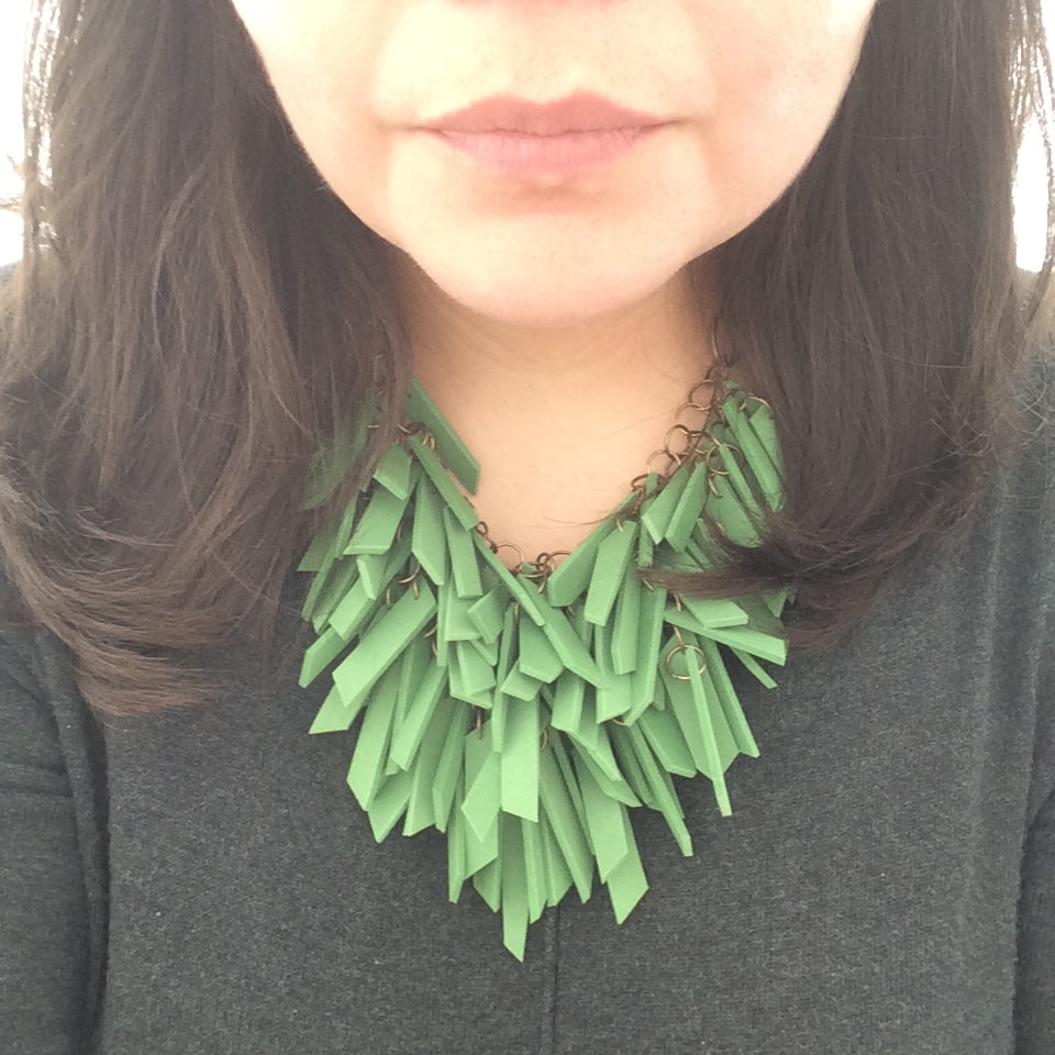 GREEN SOFT NECKLACE (NL0021)