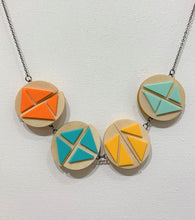 Juxtapose Wood & Rubber Necklaces